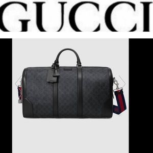 Gucci GG supreme large duffel bag price is firm‼️